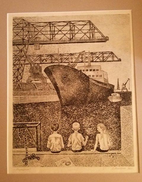 митченко, графика, купить гравюру киев